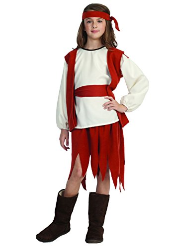 Buccaneer Girl Child Costume
