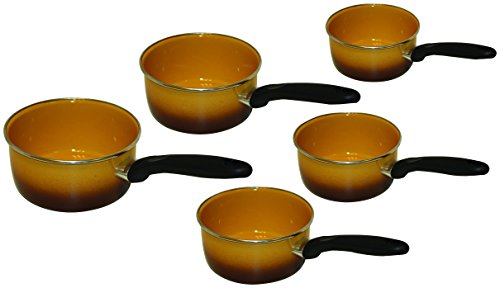 S rie de 5 casseroles inox poign e 3700437117766 cuisine for Espace cuisine casserole inox