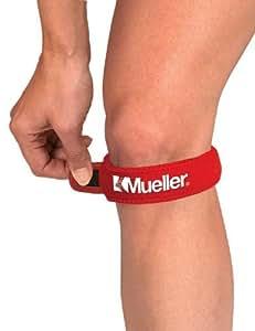 MUELLER - Genouillère - Taille unique - Rouge