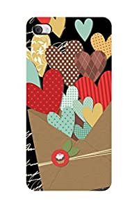 ZAPCASE Printed Back Case for I Phone 4