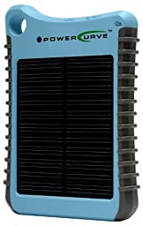 G24i Solar Innovations Power Curve Portable Charger with Assorted Fittings (Light Blue)