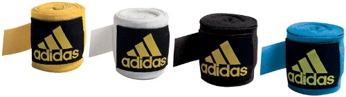 Adidas Handbandagen elastisch, 2,55m, 1 Paar schwarz schwarz -
