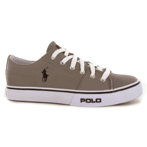 Polo Ralph Lauren Cantor Low Grey Mens Trainers