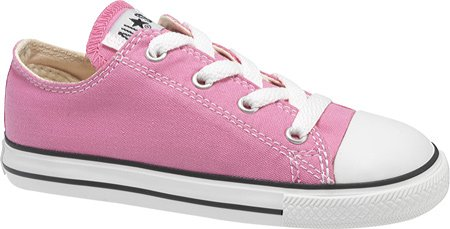 Converse Baby Girls' Infant/Toddler Chuck Taylor All Star Ox - Pink - 4 Infant