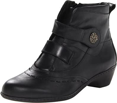 Walking Cradles Women's Coast Bootie,Black,5.5 M US