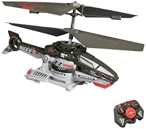 Air Hogs RC Saw Blade, Disc Firing Helicopter - Red