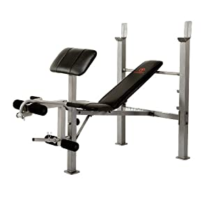 Marcy Classic Standard Bench with Arm Curl