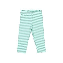 Origany Baby Girls' Jungle Fox Yarn Dyed Capri Leggings-Blue