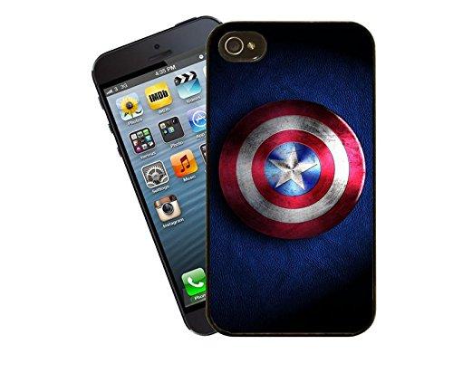 CAPTAIN America Shield iPhone custodia - Questa cover si adatta Apple di 5 e 5S - da Eclipse idee regalo