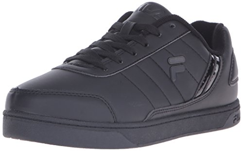 Fila Men's New Sarasota Fashion Sneaker, Black/Black/Black, 10.5 M US