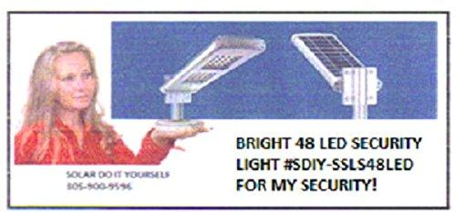Solar Street Light / Solar Area Light / Solar Lampost / 10 Watt (Commercial Solar Lights compare prices)
