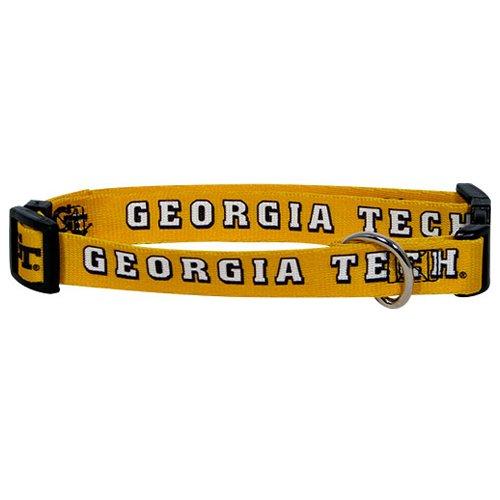 hunter-mfg-georgia-tech-dog-collar-medium
