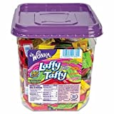 3 Pack Wonka Assorted Flavor Laffy Taffy, 3.08 lbs, 145 Wrapped Pieces/Tub by NES (Catalog Category: Office Maintenance, Janitorial & Lunchroom / Food & Beverage)