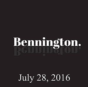 Ron Bennington Archive, July 28, 2016 Radio/TV Program