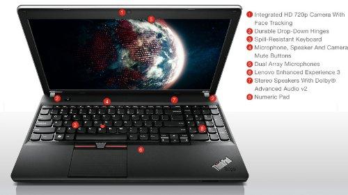Lenovo ThinkPad Edge E545 20B20011US AMD Elite 15.6″ Windows 7 Professional Business Notebook PC (A6-5350M 2.9GHz, 1TB Hybrid SSD Hard Drive, Windows 7 PRO Laptop, 16GB RAM)
