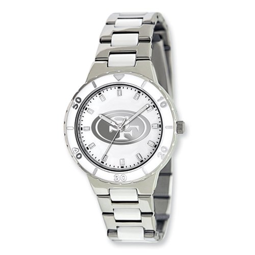 Ladies NFL San Francisco 49ers Pearl Watch at Amazon.com