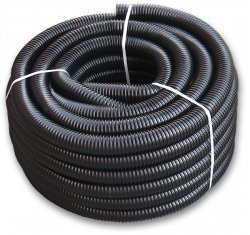 "3/4"" Black Pond Pipe ,flexi-hose (Per Metre)"
