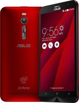 """ASUS ZENFONE 2 LASER ZE550KL ( RED ,2GB ,16GB ,5.5"""")"""
