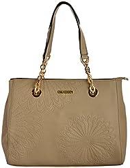 Gouribags PU Handbag (Beige)