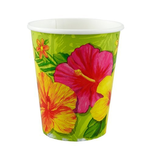 Tropical Vacation 9 oz. Paper Cups (8 count)