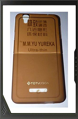 Yu Yureka Micromax Totu Design Thin Transparent Silicon Back Case