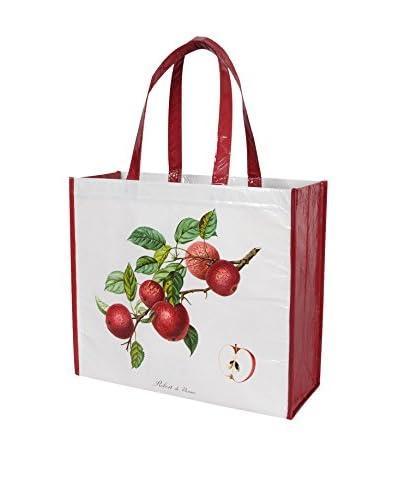 KAF Home Botanical Apple Market Tote, Multi