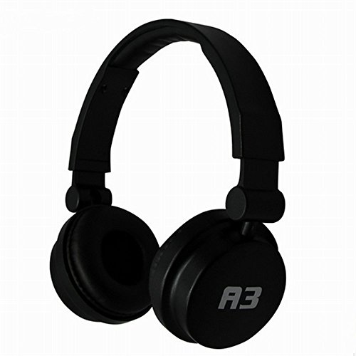 Dragon ® A3 Wired Stereo Headset With Microphone, 3.5Mm Plug & 1.1M Cable(Black)