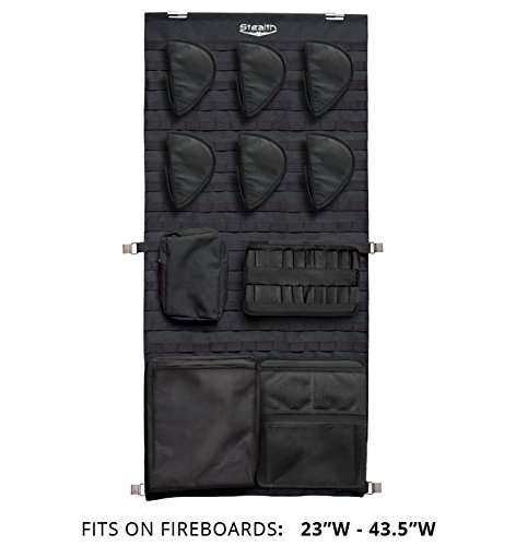 Stealth Molle Gun Safe Door Panel Organizer Medium (Molle Door Panel compare prices)