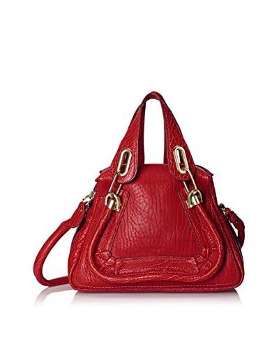 Chloe Women's Paraty Shoulder Bag, Red