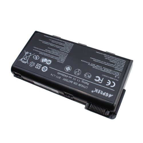AGPtek� 6 cells Laptop Battery For MSI