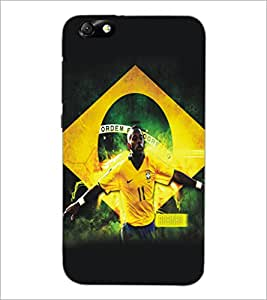 PrintDhaba Sports D-5194 Back Case Cover for HUAWEI HONOR 4X (Multi-Coloured)