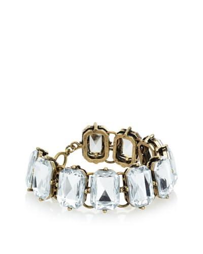 Leslie Danzis Baguette Crystal Link Bracelet
