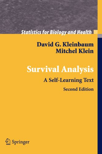 Survival Analysis: A Self-Learning Text (Statistics for...