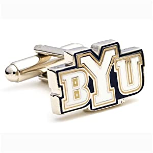 Brigham Young Cougars Executive Cufflinks w Jewelry Box by Cufflinks