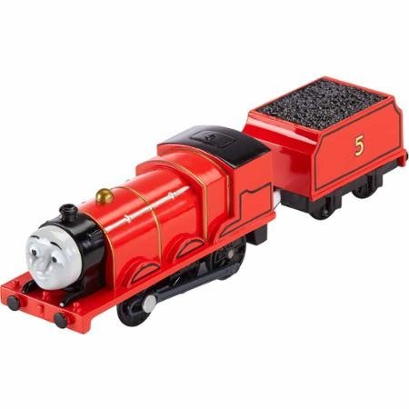 Fisher-Price-Thomas-Friends-Trackmaster-Motorized-James-WLM