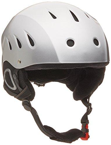lucky-bums-snow-sport-helmet-with-fleece-liner-silver-medium
