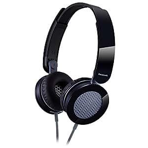 Panasonic Clear & Powerful Sound Stereo Headphones (Black)