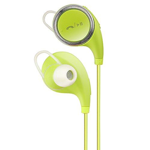 Simptech SQ8 Wireless Bluetooth V4.1 Stereo Headphone Fashion Sport Running Headset Studio Music Earphone with Microphone(Green)