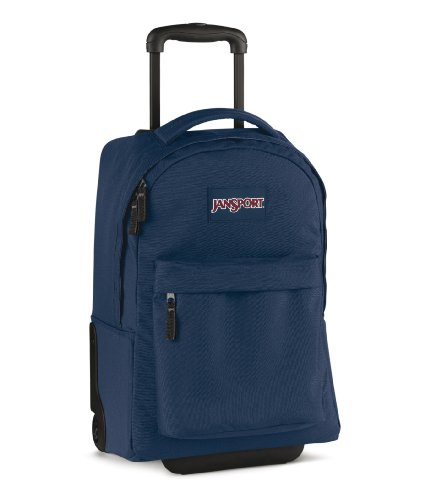 Jansport Wheeled Superbreak Rucksack - Navy