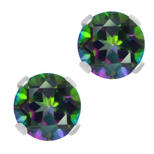 200-ct-green-mystic-topaz-10k-white-gold-stud-earrings-6mm-by-gem-stone-king