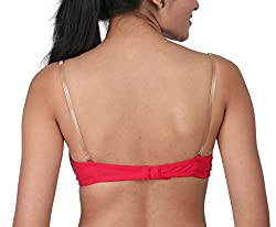 BODYCARE Soft Support Padded Strapless Bra ( Bodycare-6552_17_Red_30 B)
