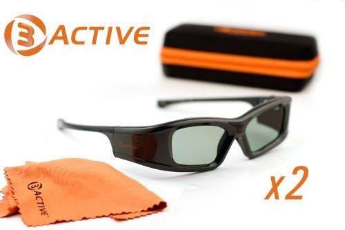 PANASONIC-Compatible 3D Glasses. For 2011 3D