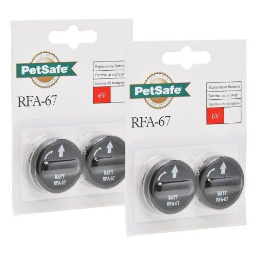 Artikelbild: 4er Pack Batterie Modul RFA-67D RFA 67D 67 D für Petsafe