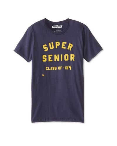 Ames Bros Men's Super Senior Crew Neck T-Shirt