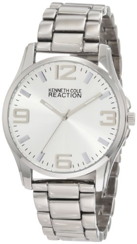 Kenneth Cole REACTION Men's RK5105 HOLIDAY-Box Set Round Bracelet Extra Strap Watch