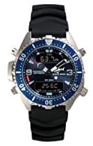 Chris Benz Depthmeter Digital CB-D200-B-KBS Mens Chronograph Diving Computer