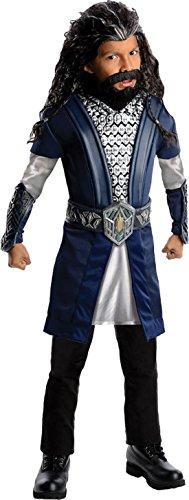 Boys Hobbit Thorin Kids Child Fancy Dress Party Halloween Costume