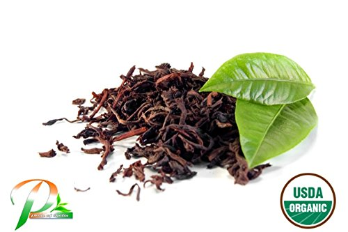 Pride Of India - Organic Assam Breakfast Black Tea, 1 Pound Orthodox Full Leaf