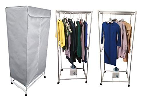 Simple living electric portable clothes drying rack for Minimalist living clothes