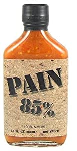 Pain 85 Habanero Hot Sauce 100 Natural - 65 Oz by Original Juan